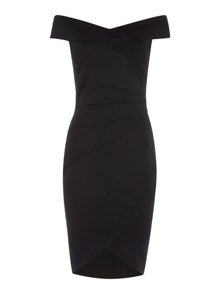 Jessica Wright Off Shoulder Bodycon Dress
