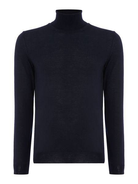 Hugo Boss Musso B slim fit roll neck merino jumper