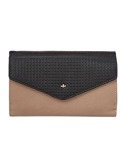 Kayla neutral large flap over purse