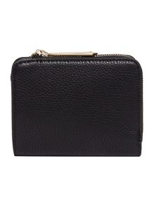 Nica Gina black small zip around purse