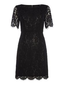 tfnc 3/4 Sleeve Lace Bodycon Dress