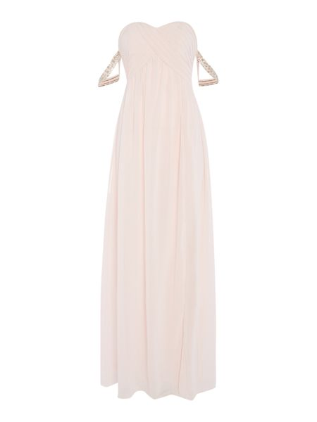 tfnc Off Shoulder Maxi Dress