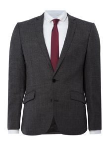 Kenneth Cole Parsons Slim Fit Textured Suit Jacket