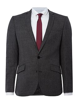 Parsons Slim Fit Textured Suit Jacket