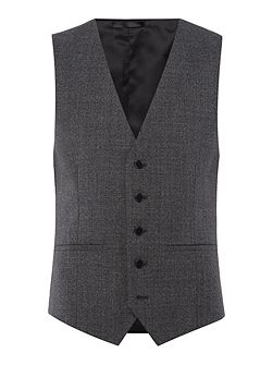 Parsons Slim Fit Textured Waistcoat