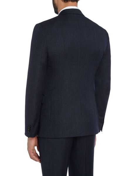 Kenneth Cole Wade Slim Fit Textured Suit Jacket
