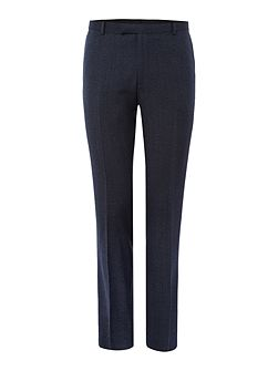 Wade Slim Fit Textured Suit Trouser