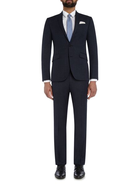 Kenneth Cole Wade Slim Fit Textured Suit Trouser