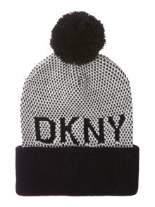 DKNY Girls Knitted hat
