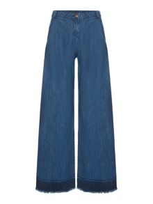 Une Fille Girls  Flare high waited trousers