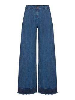 Girls Flare high waited trousers