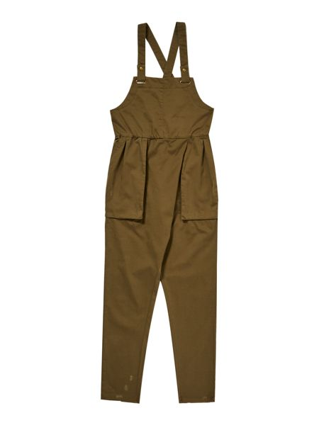 Une Fille Girls Dungarees