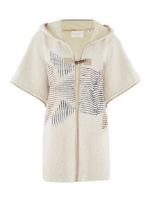 Une Fille Girls  Hooded poncho