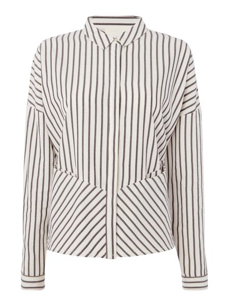 Une Fille Girls Striped Shirt