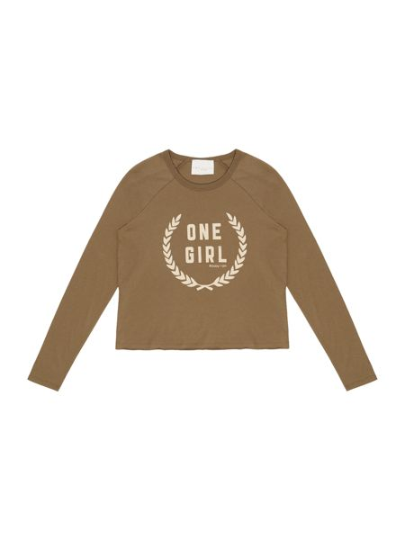 Une Fille Girls  Long sleeve t-shirt