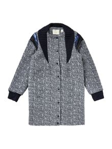 Une Fille Girls Woollen Coat