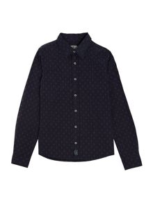Hugo Boss Boys: Long sleeve shirt