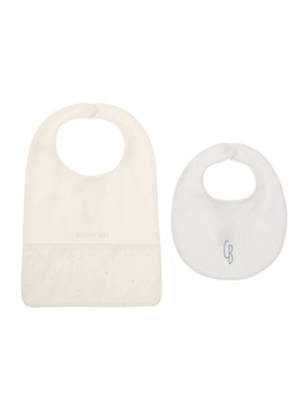 Carrement Beau Baby boys Set of 2 bibs