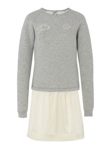 Karl Lagerfeld Girls Long Sleeve Dress