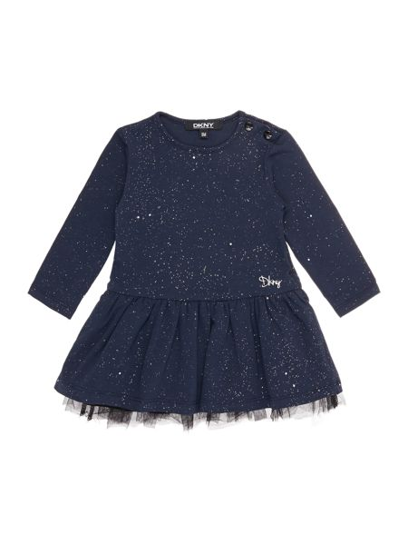 DKNY Baby girls Long sleeves tulle dress