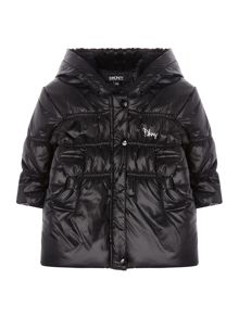 DKNY Baby girls: Puffer jacket