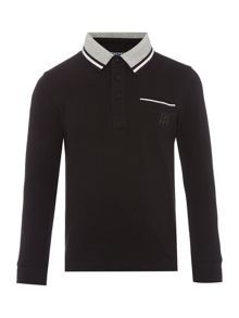 DKNY Boys Long sleeve polo shirt