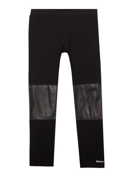 DKNY Girls Jersey leggings