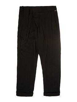 Girls: Twill trousers