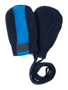 Hugo Boss Baby boy: knitted gloves