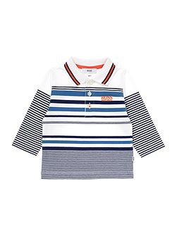 Baby boy Long sleeve polo shirt
