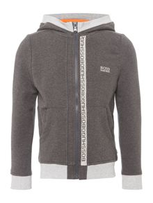 Hugo Boss Boys Cotton Fleece Hoody