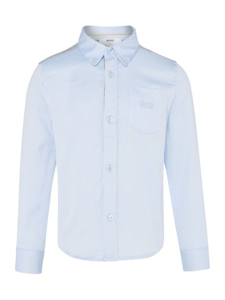 Hugo Boss Boys Cotton Shirt
