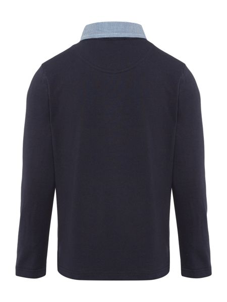 Hugo Boss Boys Long Sleeved Polo