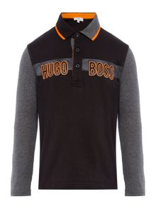 Hugo Boss Boys Cotton Polo Shirt