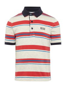 Hugo Boss Boys Short Sleeve Polo