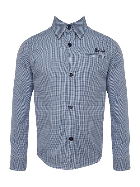 Hugo Boss Boys Long Sleeve Shirt