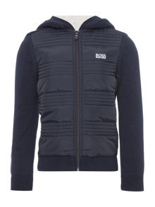 Hugo Boss Boys Padded Sweatshirt