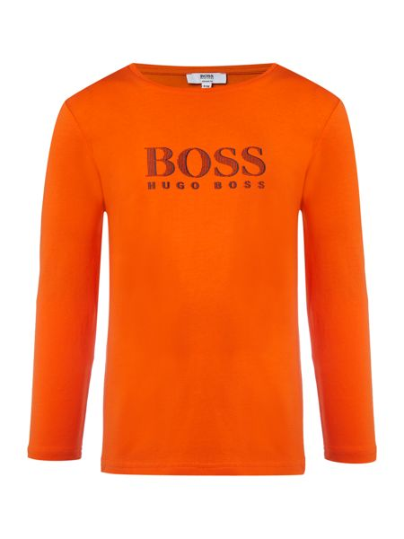 Hugo Boss Boys Long Sleeve T-Shirt