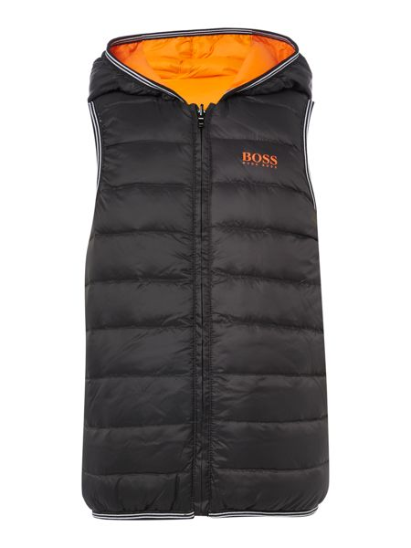 Hugo Boss Boys Sleeveless Puffer Jacket