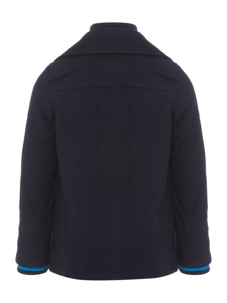 Hugo Boss Boys Wool Blend Coat