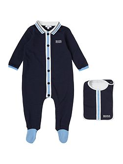 Baby boy Set pyjamas and bib