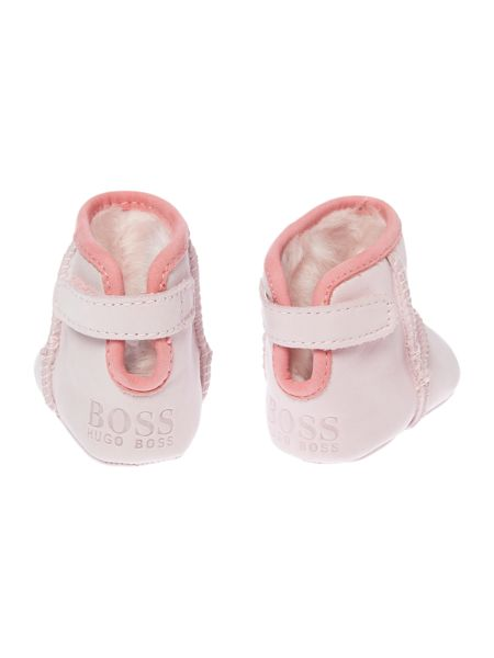 Hugo Boss Baby girl Fur boots