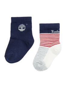 Timberland Baby boy Set of two pair of socks