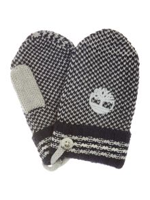 Timberland Baby boy Knitted mittens