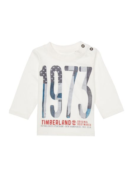 Timberland Baby boy Long sleeve t-shirt