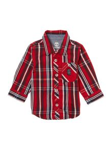 Timberland Baby boy Long sleeve checked shirt