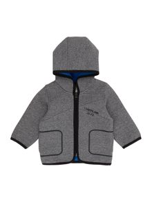 Timberland Baby boy Hooded neoprene style jacket