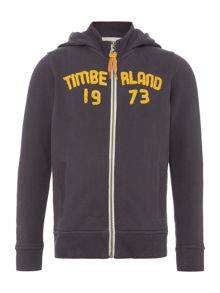 Timberland Boys Suede Fleece Hoody