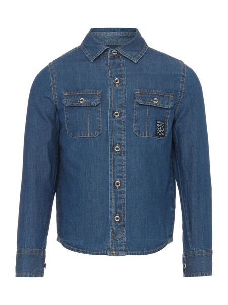 Timberland Boys Long sleeve denim shirt