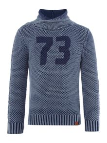 Timberland Boys High collar knitted sweater